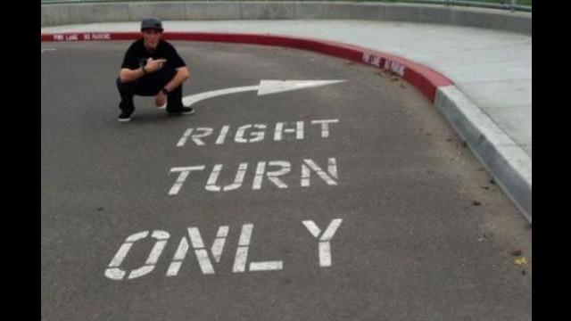 turn right fail