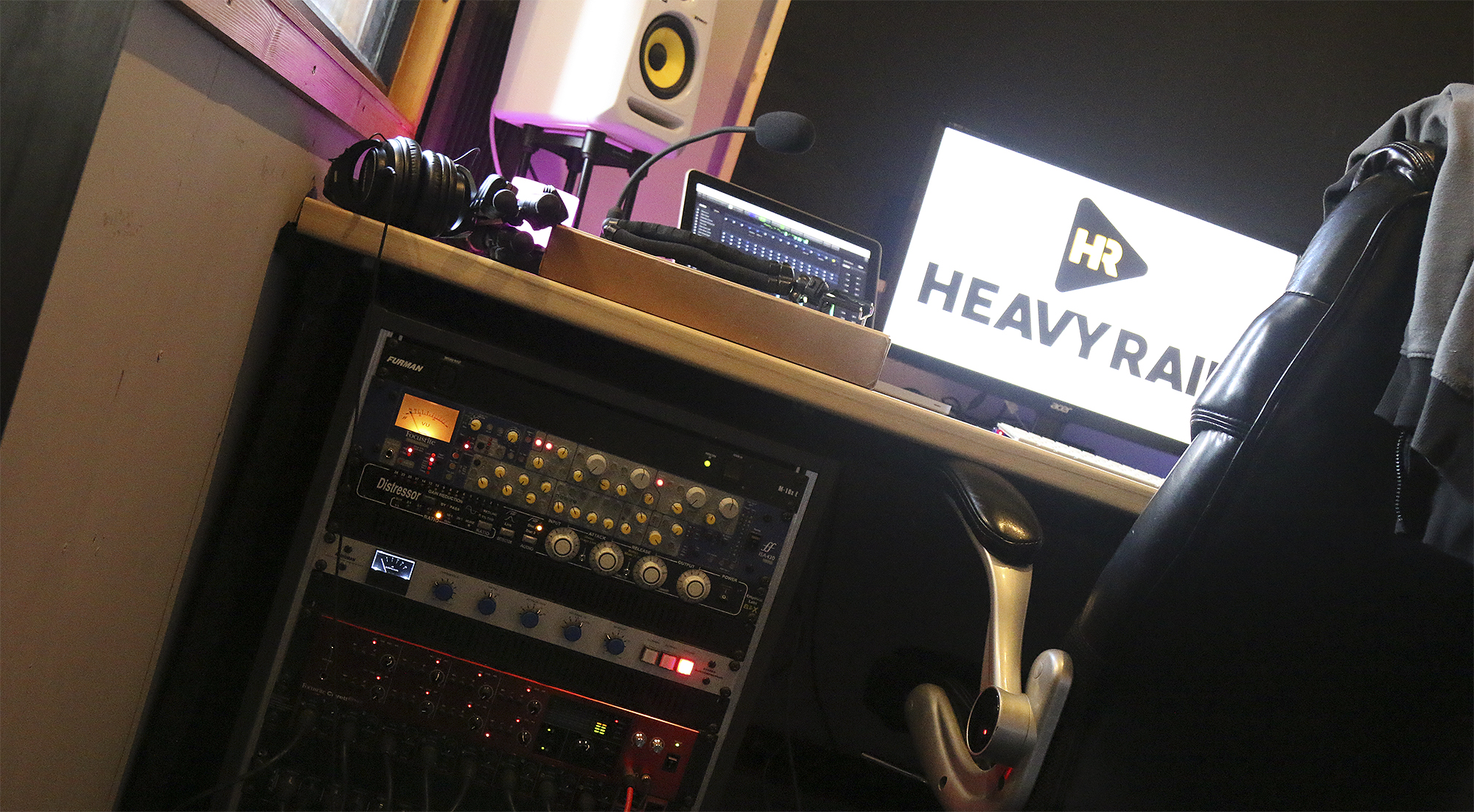 Heavy Rain Sound Studio