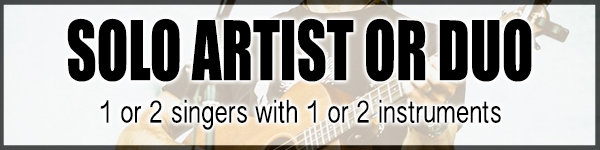 solo artist or duo