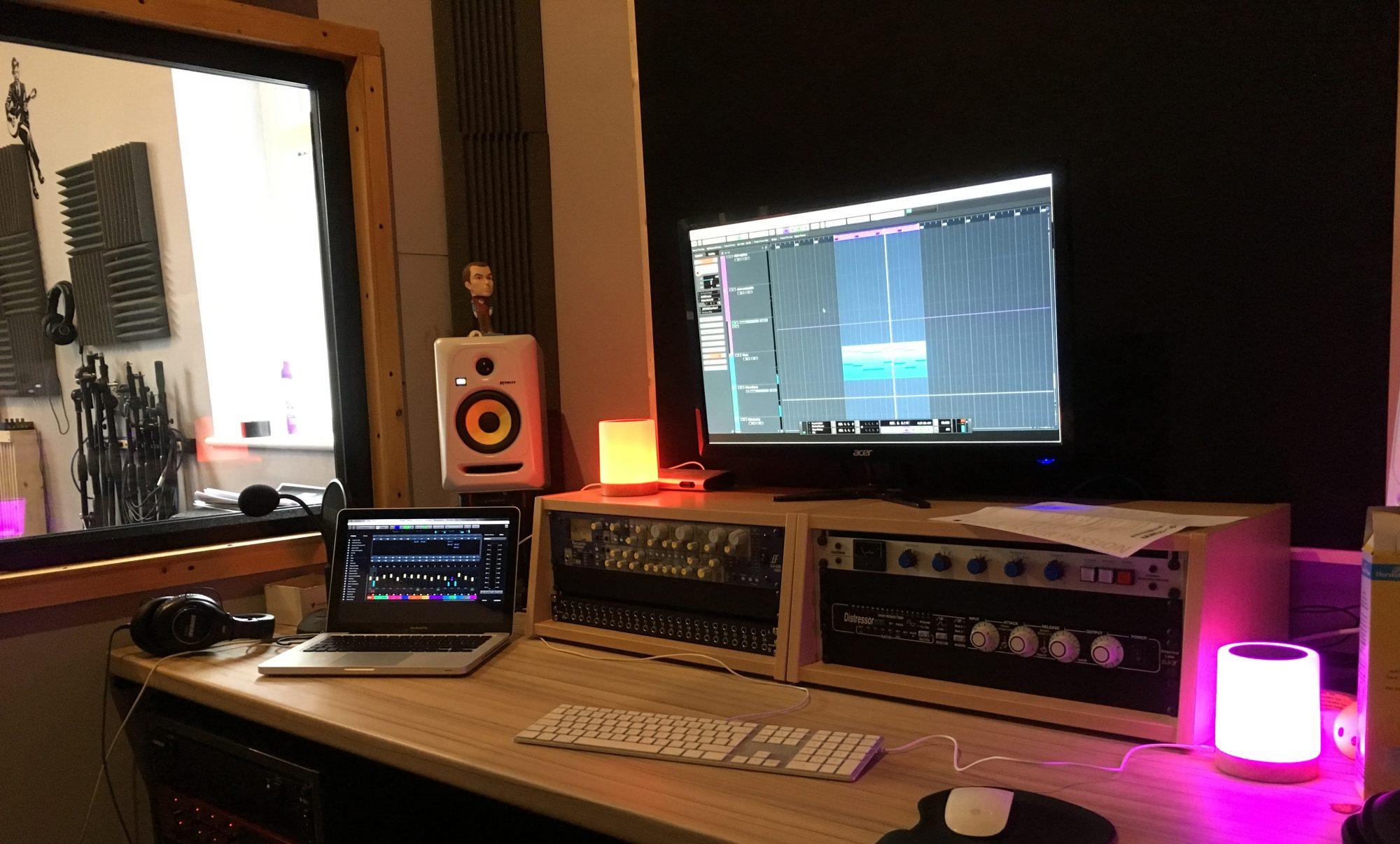 Heavy Rain Sound Studio